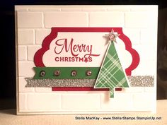 Lots of Joy, Lots of Labels Framelits, Brick Wall Embossing Folder - Stampin' Up!