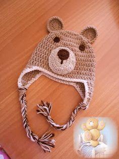 ΠΛΕΚΤΑ ΒΑΣΙΛΕΙΑ - CROCHET VASILIA : Ο Μέλ το αρκουδάκι με ανηπομονησία περιμένει να φο...