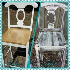Refinished bar stools www.facebook.com/shabbyabbycreations