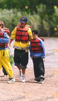 July 17, 1995: Princess Diana white river rafting in Glenwood Springs, Colorado. Photo by Dave Chancellor/alpha/Globe Photos,inc.