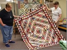 Quiltville's Quips & Snips!!: A Whole Lotta Delta Junction Show & Share!