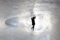 Climb Inside Numen/For Use's Membrane of Packing Tape at Palais de Tokyo in Paris