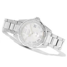 Invicta+Womens+Angel+Diver+Stainless+Steel+Bracelet+Watch+w/+Travel+Box