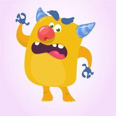 Drawkman Фотограф - iStock Cartoon Monsters, Scary Monsters, Little Monsters, Monster Illustration, Character Illustration, Monster Characters, Fictional Characters, Doodles, Funny Troll