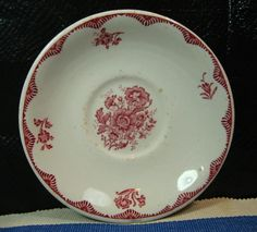 """Sterling China Made for York Kitchen, Saucer, VERY RARE!! Vintage! 6"""" 