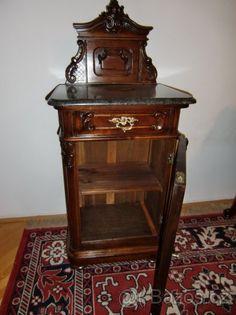 Vídeňské baroko-noční stolek - 1