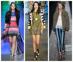 Come indossare le righe: orizzontali, verticali, colorate??