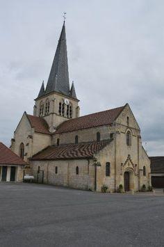 Eglise Saint-Remi te Berneuil-sur-Aisne (Oise 60)