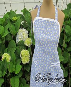 Cotton Grandmas Apron
