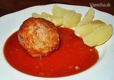Mäsové guľky v paradajkovej omáčke - Recept French Toast, Breakfast, Bar, Food, Morning Coffee, Essen, Meals, Yemek, Eten