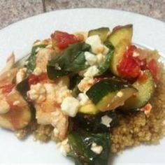 Chicken with Quinoa and Veggies