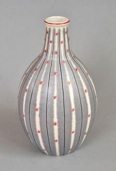 Poole pottery Freeform carafe vase by robmcrorie, via Flickr