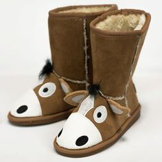 5587d4eb9d6f Lazy One Kids Toasty Toez Boots Little Girl Shoes