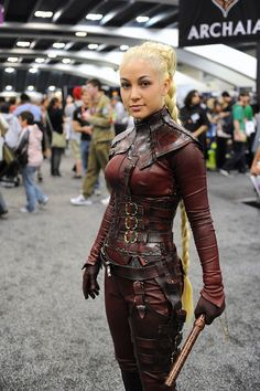 Mord-Sith  Legend of the Keeper was a pretty cool show...