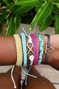 Charm Bracelet - FLOWER GARDEN BRACELET by VIDA VIDA AUUkEG