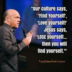Jesus says...  (Pastor Greg Laurie... Riverside, California)