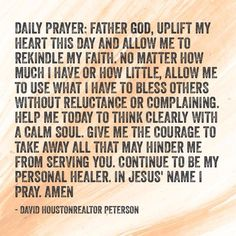 Daily Prayer Prayer Scriptures, Prayer Quotes, Bible Quotes, Prayer Ministry, Effective Prayer, Learning To Pray, Prayer Changes Things, Everyday Prayers, Pomes