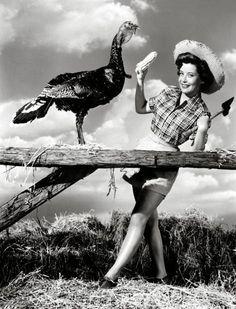 Gloria DeHaven  vintage everyday: Happy Thanksgiving!