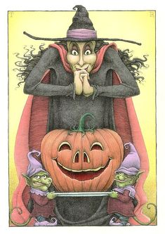 fantastic witch/pumpkin.  This site has darling animal pictures
