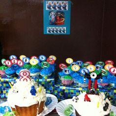 Lego Ninjago party decorations