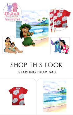 """Lilo"" by dragonfaery ❤ liked on Polyvore featuring Disney and 30daydisneychallenge"