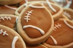 Football dessert ideas
