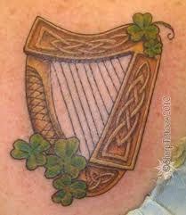 TATTOO - irish / celtic harp