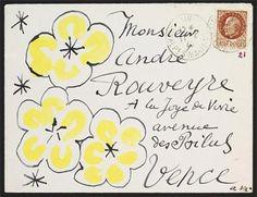 Henri Matisse envelope