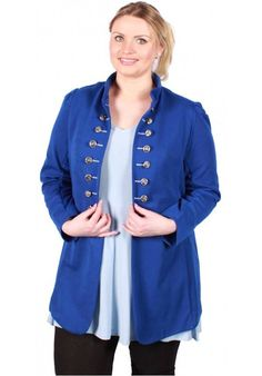 Magna Fashion Blazer BASIL DONKER KOBALT BLAUW VISCOSE