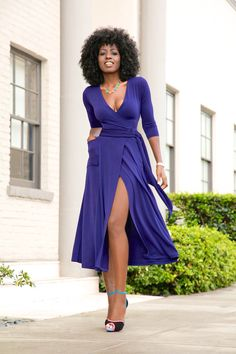 what shoes to wear with navy dress best outfits - cute dresses outfits Black Women Fashion, Cute Fashion, Look Fashion, Fashion Outfits, Feminine Fashion, Cute Dress Outfits, Cute Dresses, Cool Outfits, Navy Outfits