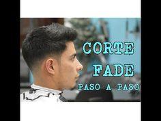 CORTE DE CABELLO MASCULINO  DESVANECIDO PARA HOMBRE CORTE FADE PASO A PASO - YouTube