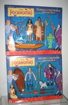 Disney Pocahontas Action Figure Gift Sets @Anna Totten Helgadottir Eid - you got this as a birthday present