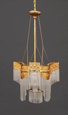 coppermetropolis: (via An Art-Nouveau ceiling...