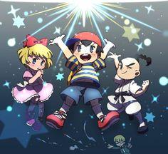 """あす en Twitter: """"PKスターストーム!!仲間がネスとリュカのもとに応援しにきてくれるの本当嬉しい… ポーラとプー、クマトラとボニーも動くところが見られるの楽しみ… """" Metroid, Mother Games, Nintendo Characters, Pokemon, Fanart, Cartoon Games, Super Smash Bros, Mother Earth, Cute Art"""