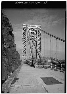 Eyeballing the New York City Bridges and Tunnels Fort Lee, Washington Heights, Hudson River, George Washington Bridge, New Jersey, New York City, Tower, Bridges, Travel