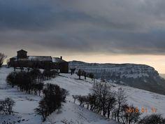Y cuando llega el invierno... el paisaje te envuelve.