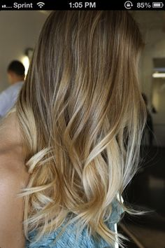 dark blonde... show stylist to give idea of natural color before color correction.