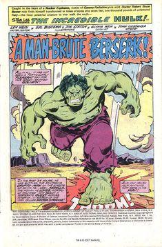 Making a Splash: Marvel Comics Forty Years Ago This Month, September 1976 Hulk Avengers, Hulk Marvel, Marvel Dc Comics, Marvel Heroes, Hulk Movie, Marvel Paintings, Sal Buscema, Marvel Background, Wonder Twins