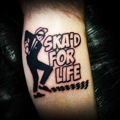 #fun #friday #tattoo #ska #irony #ironic #ink #ironshoetattoo