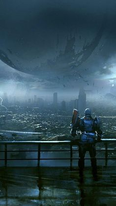 Commander looking at the traveler (Destiny) Destiny Wallpaper Hd, Destiny Backgrounds, Hd Wallpaper, Destiny Comic, Destiny Game, Destiny Poster, Video Game Art, Video Games, Cry Anime