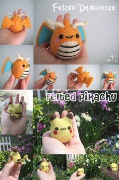 These Felt Pokémon Are So Cute