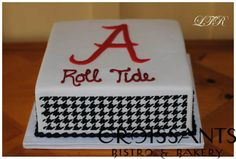 Alabama Roll Tide Sports Cake