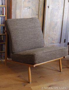 Twee Dux-fauteuils, jaren '50. Alf Svensson