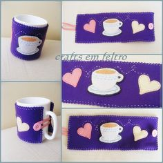 mug cozy...By Cristina F. Silva, via Flickr.