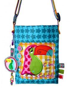 Farbenmix fabric tote, purse, cross-body bag. Tasche Schnittmuster gratis umsonst Anleitung Utensilo farbenmix