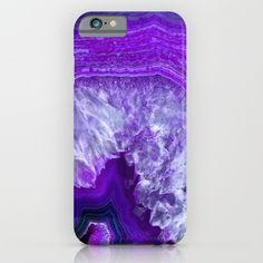 purple stone iPhone & iPod Case