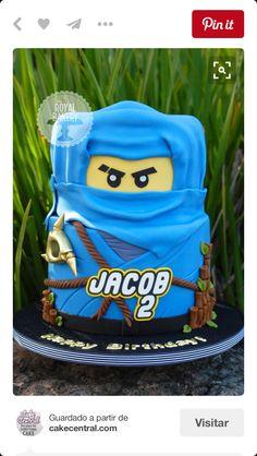 Jay ninjago cake