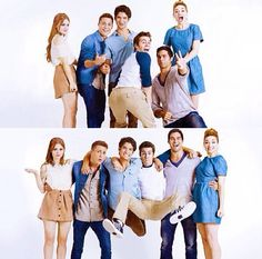 Awesome Cast Picture / TeenWolf