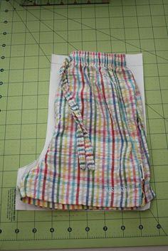 cuffed shorts tutorial