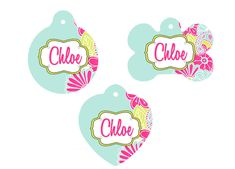 Personalized Dog Tag, Chevron Tag, Cat Tag, Personalized Cat Tag, Animal Tag, Chevron Dog Tag, Heart Pet Tag, Pet Tag, Personalized Pet Tag by RyElleCreations on Etsy